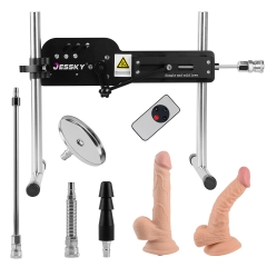 Alle neuen Premium Sex Machine Wireless Fernbedienung Fickmaschine mit Dildo